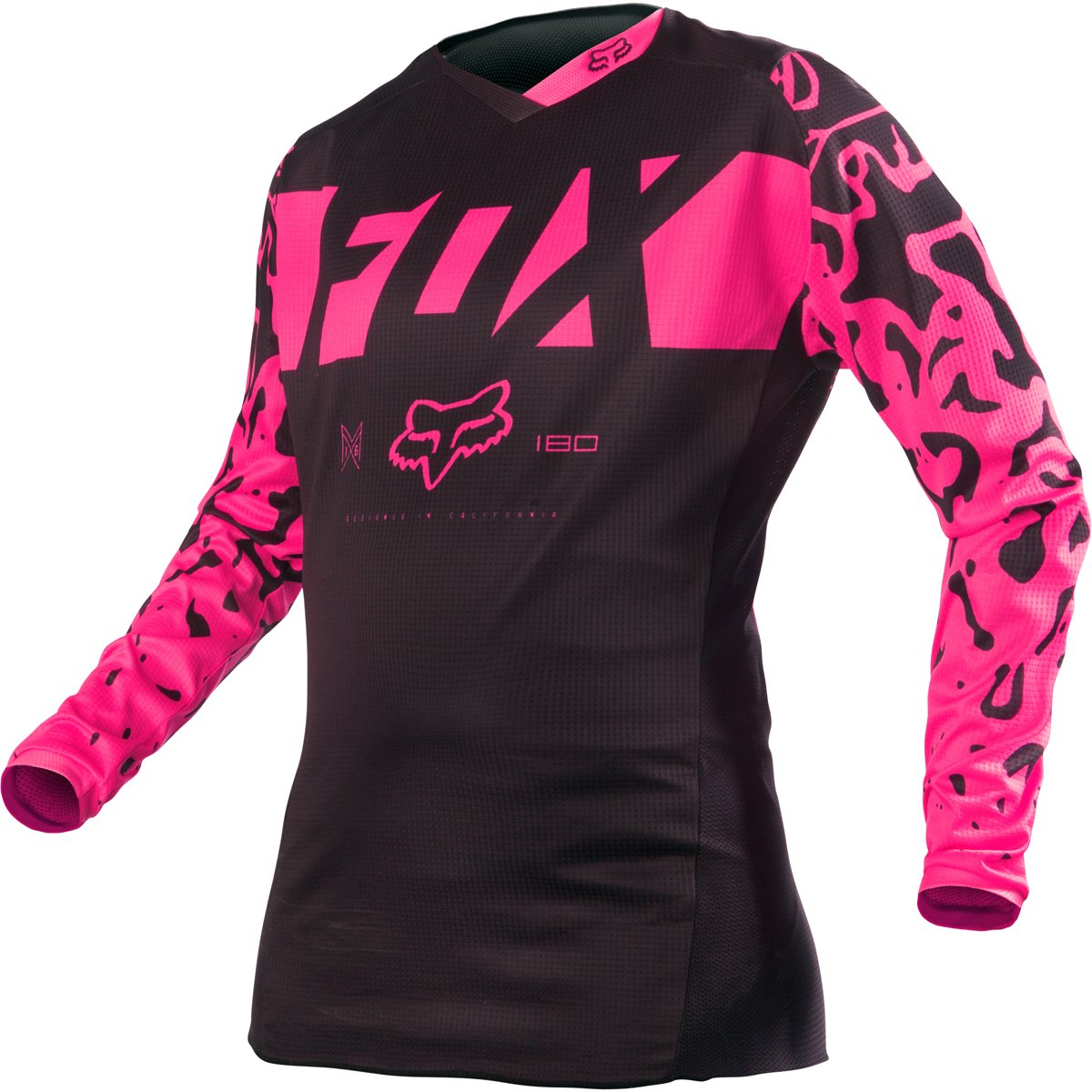 2016 Fox Racing Womens 180 Jersey-Black/Pink-XS