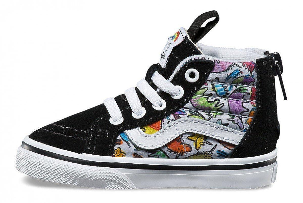 a895c6b0d5ff5c Amazon.com  Vans Sk8 HI Zip Toddlers 5.5 Boys Girls Dallas Clayton Unicorns  Shoes  Shoes