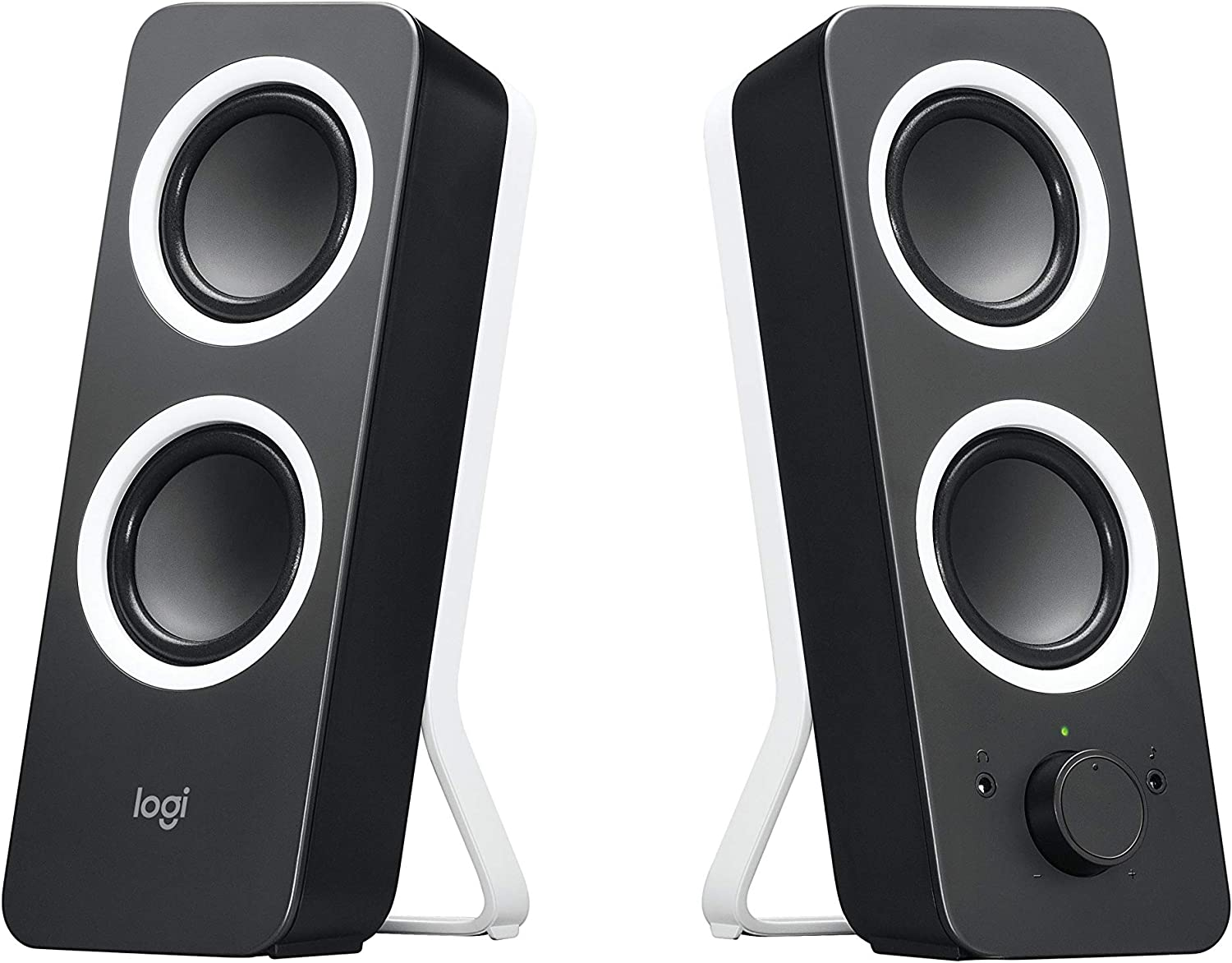 Logitech Multimedia Speakers Z200 with Stereo Sound for Multiple Devices Black