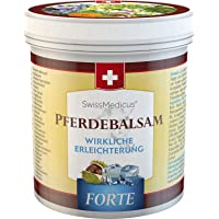 SwissMedicus - Hästbalsam kylande extra stark – hästsalva Forte 500 ml – innehåller 25 örtextrakt inklusive benwell…