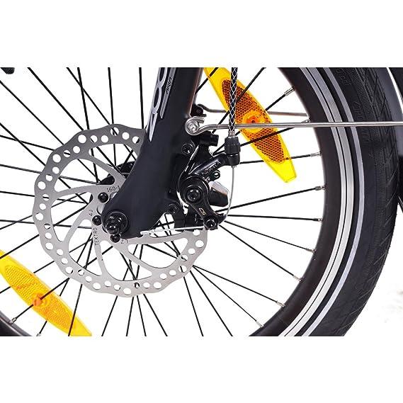 NCM Madrid 50,8 cm para Bicicleta Eléctrica E-Bicicleta Plegable E-Bike ALU 36 V 250 W Batería Li-Ion Batería de Marco 9Ah!: Amazon.es: Deportes y aire ...
