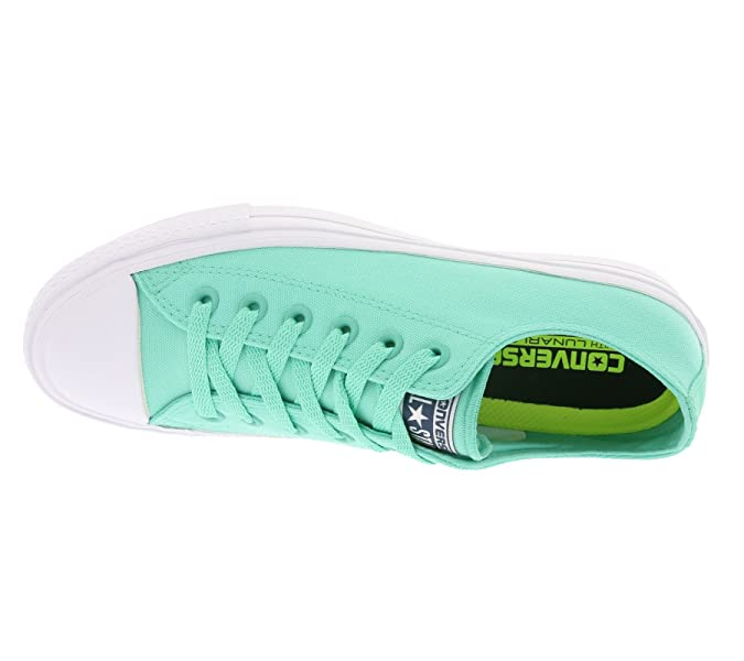 Amazon.com | Converse Chuck Taylor All Star II OX Teal/Navy/White | Fashion Sneakers