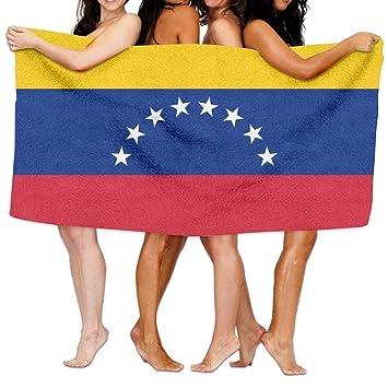 New Shorts Toalla de Playa para Piscina, Yoga, Pilates, Picnic, de la Bandera de Venezuela de 203 x 130 cm, Suave y Ligera, Absorbente: Amazon.es: Hogar