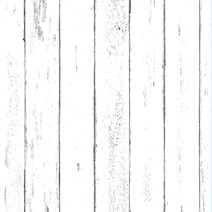 White Wood Wallpaper Wood Peel And Stick Wallpaper Contact Paper Or Wall Paper Removable Wallpaper Prepasted Wallpaper 1 48 Ft X 9 83 Ft
