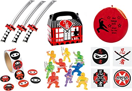 Amazon.com: 220 PC Ninja Warrior Kid 's Birthday Party ...