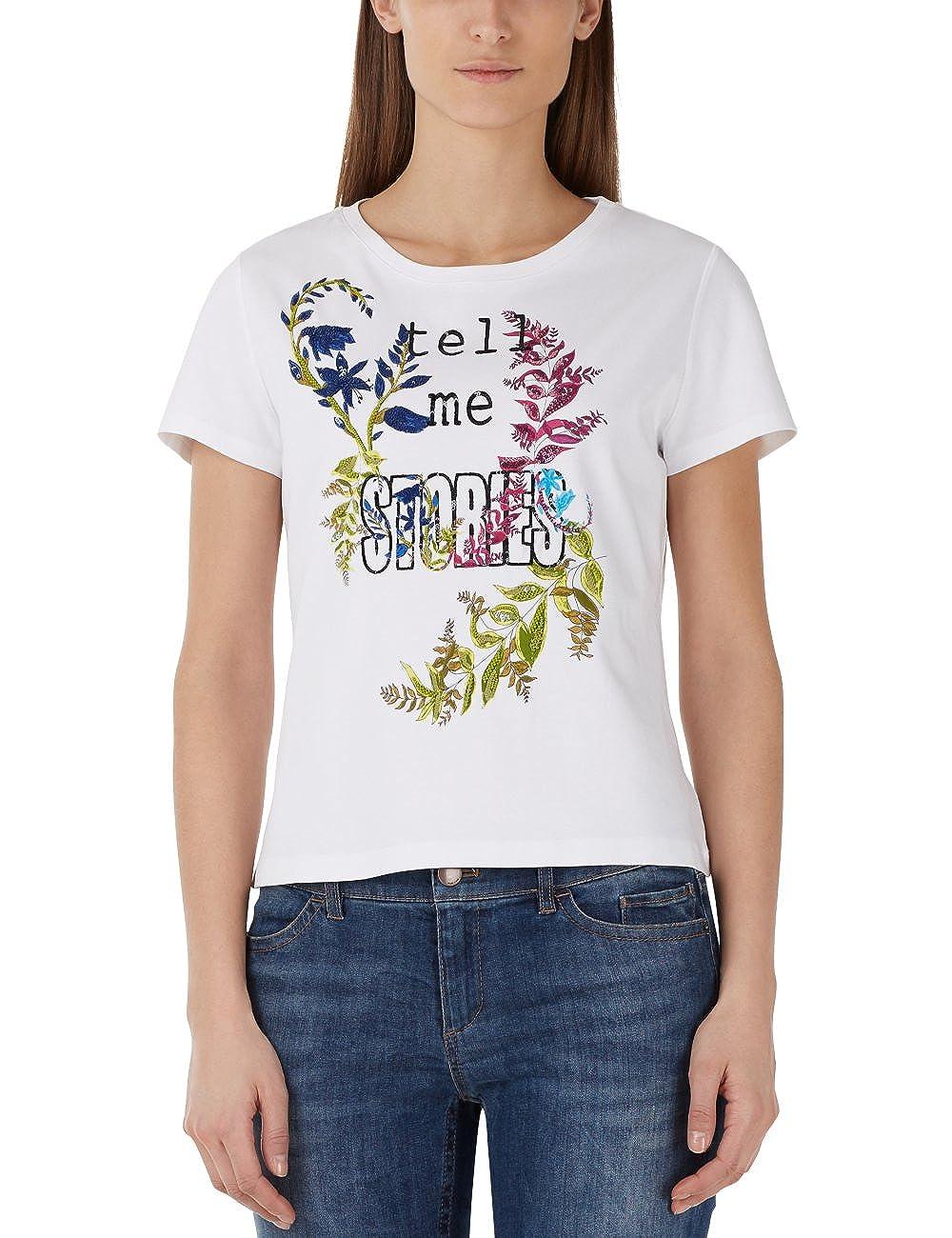 Marc Cain Collections Collections Collections Damen T-Shirt B077S8KD6N T-Shirts Authentische Garantie cc3722