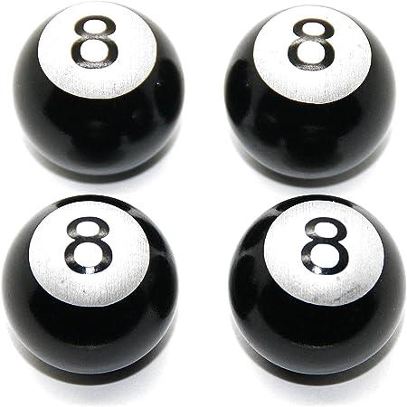 4 x tapones de válvula – Bola de billar número Auto Moto o ...
