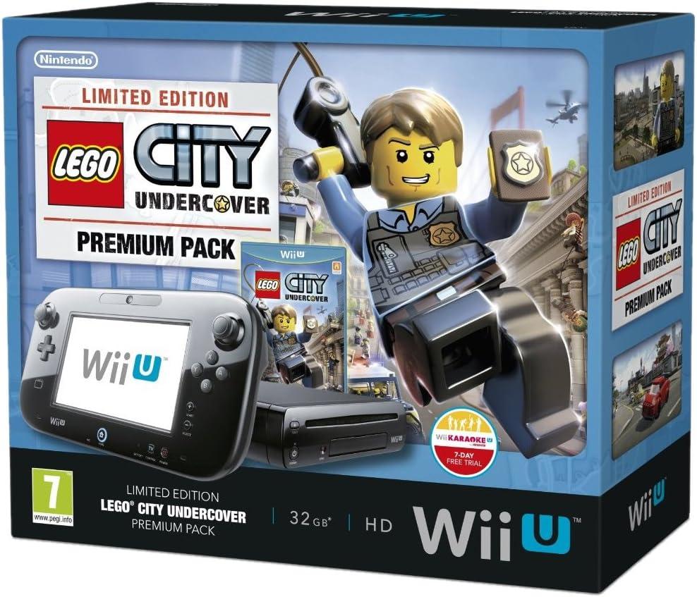 Nintendo Wii U 32Gb Lego City: Undercover Premium Pack - Black ...