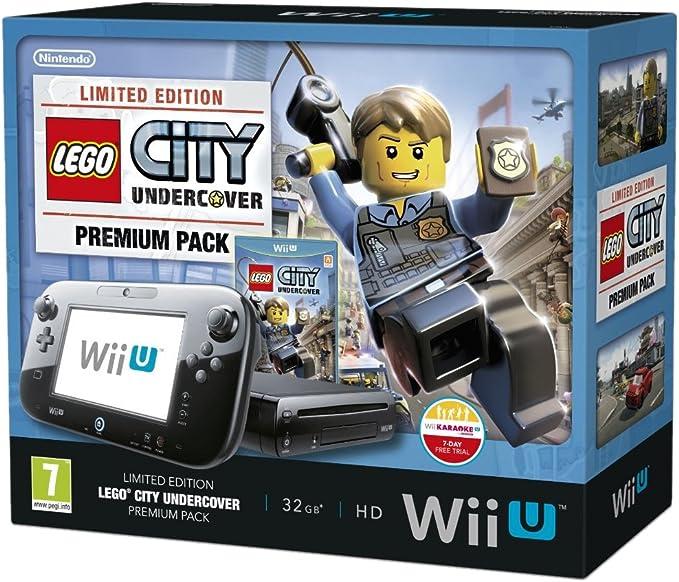 Nintendo Wii U 32Gb Lego City: Undercover Premium Pack - Black (Nintendo Wii U) [Importación Inglesa]: Amazon.es: Videojuegos