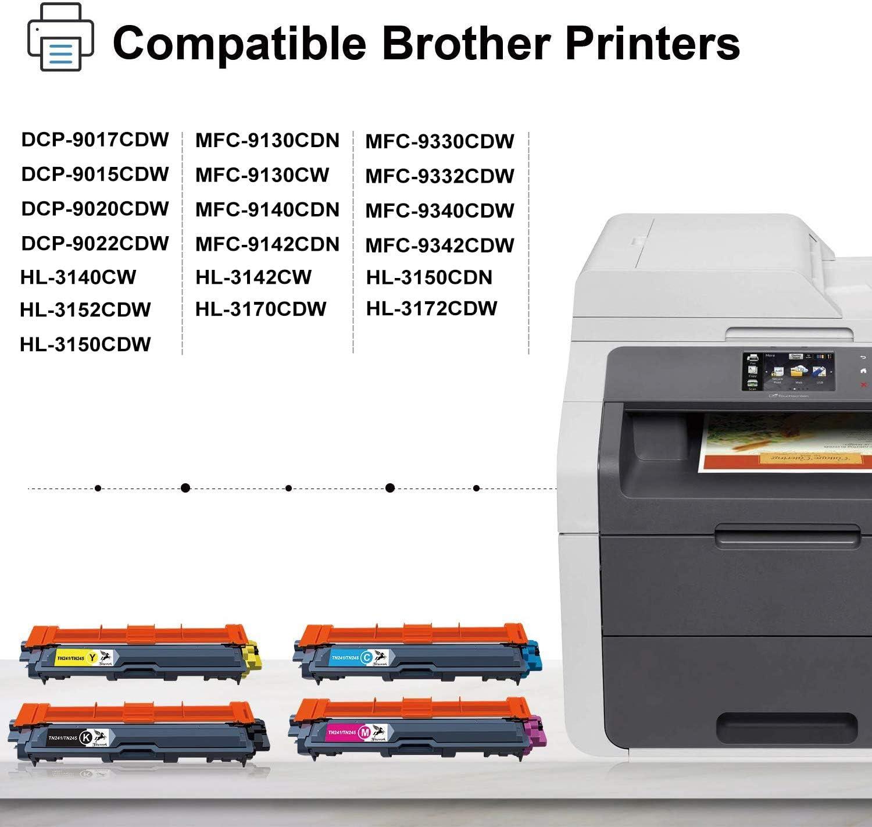 FITU WORK TN-241 TN-245 cartucho de tóner Compatible para Brother ...