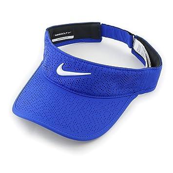 Nike W NK Visor Tech Gorra de Golf, Mujer, Azul (Paramount Blue / White), talla Única: Amazon.es: Deportes y aire libre