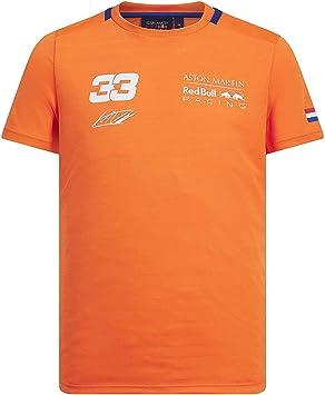 Branded Sports Merchandising B.V. Camiseta Deportiva B.V. Red Bull Racing F1 MAX Verstappen Naranja 33: Amazon.es: Deportes y aire libre