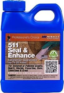 Miracle Sealants SEENPT6 511 Seal & Enhance Color & Gloss Enhancers, Clear