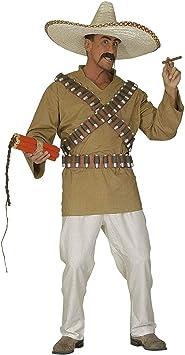 WIDMANN Disfraz de mejicano para hombre: Amazon.es: Juguetes ...