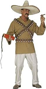 WIDMANN Disfraz de mejicano para hombre: Amazon.es: Juguetes y juegos