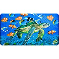 Yolife Alfombrillas de baño Antideslizantes para niños, Animal Marino Estrella de mar Alfombrilla de bañera para niños…