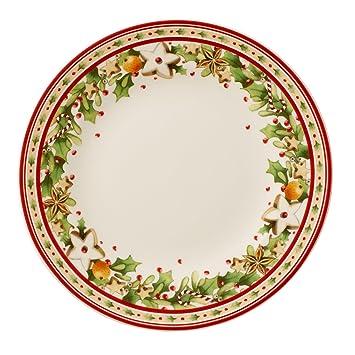Villeroy & Boch Winter Bakery Delight Plato de Desayuno, 21,5 cm, Porcelana