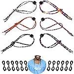 Face Mask Lanyard, 18Pcs Adjustable Eyeglass Holder Strap Sunglass Cord for