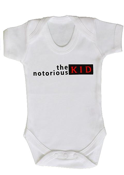 El famoso Kid Funny Baby Grow/Cool bebé niños Hip Hop Rap chaleco regalo/