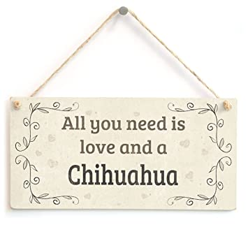 Amazon.com: meijiafei All You Need Is Love y un Chihuahua ...