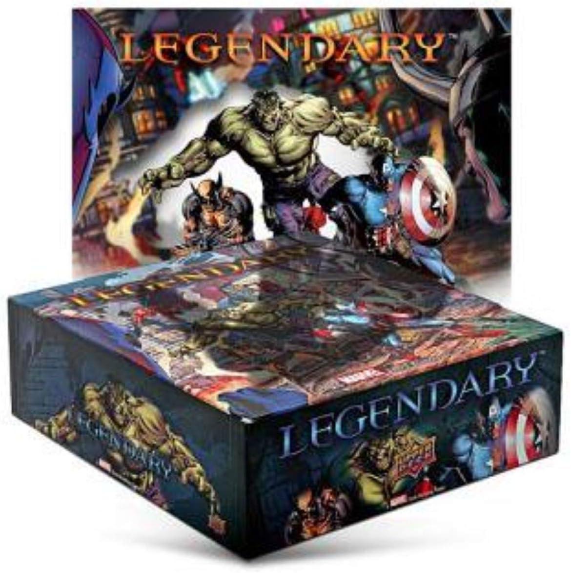 Superior Deck Entertainment Legendary Marvel Deck Building: Amazon.es: Juguetes y juegos