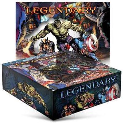 Upper Deck Entertainment Legendary Marvel Deck Building: Amazon.es: Juguetes y juegos