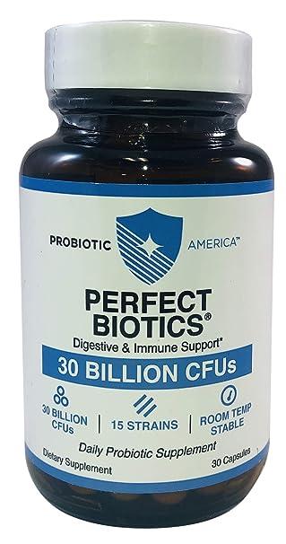 Amazon.com: Probiotic América perfecto Biotics Plus (extra ...