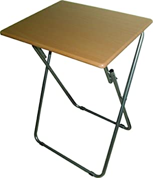 Folding Table With Premium Quality Ideal Dimensions Measuring 19u201d Width X  15u201d Depth X