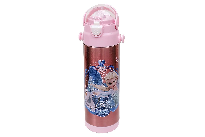 Personnage enfants Bouteille d'eau Disney La Reine des neiges Flacon de 500ml pour l'école, gourde Bouteille pour sports, camping, cyclisme, rester Hydratée, personnage enfants préféré