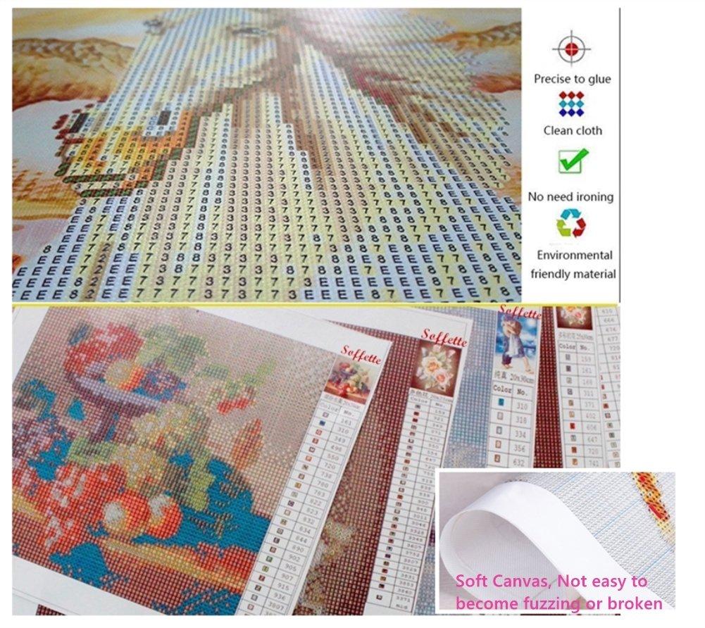 5d Diamond Painting Kits Full Drill DIY Kit Cross Stitch Embroidery Diamond Art Kit for Adults Kids Xmas Painting by Diamond Eagle