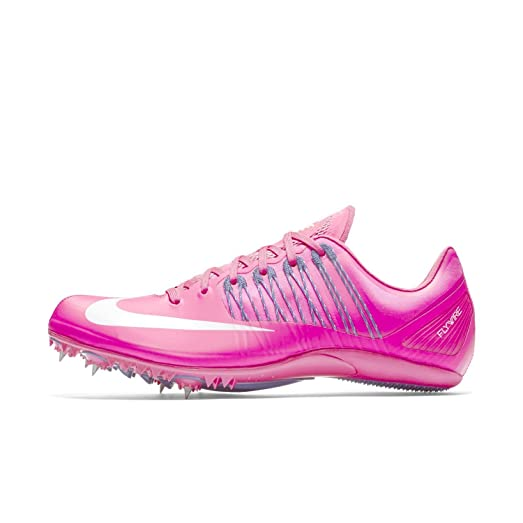 Nike Zoom Celar 5 Sprint Track Spikes Shoes Pink White Mens Size 13