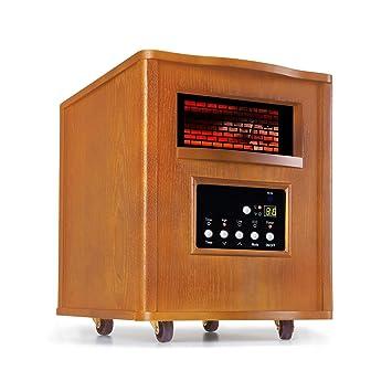 Klarstein Heatbox Calefactor infrarrojo • Aparato portátil • Calefacción con ruedecillas • 1500 W • De
