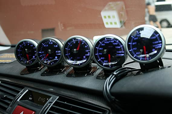 Autobahn88 Universal Car Racing Gauge Soporte Soporte de taza Pod, para Defi Swivel 60mm (2.4 pulgadas): Amazon.es: Coche y moto