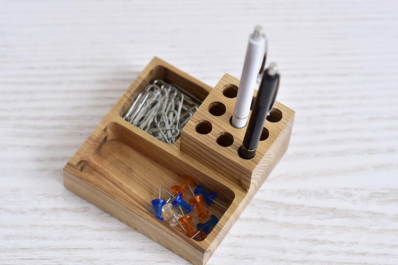 Organizador de escritorio de madera para mesa de oficina ...