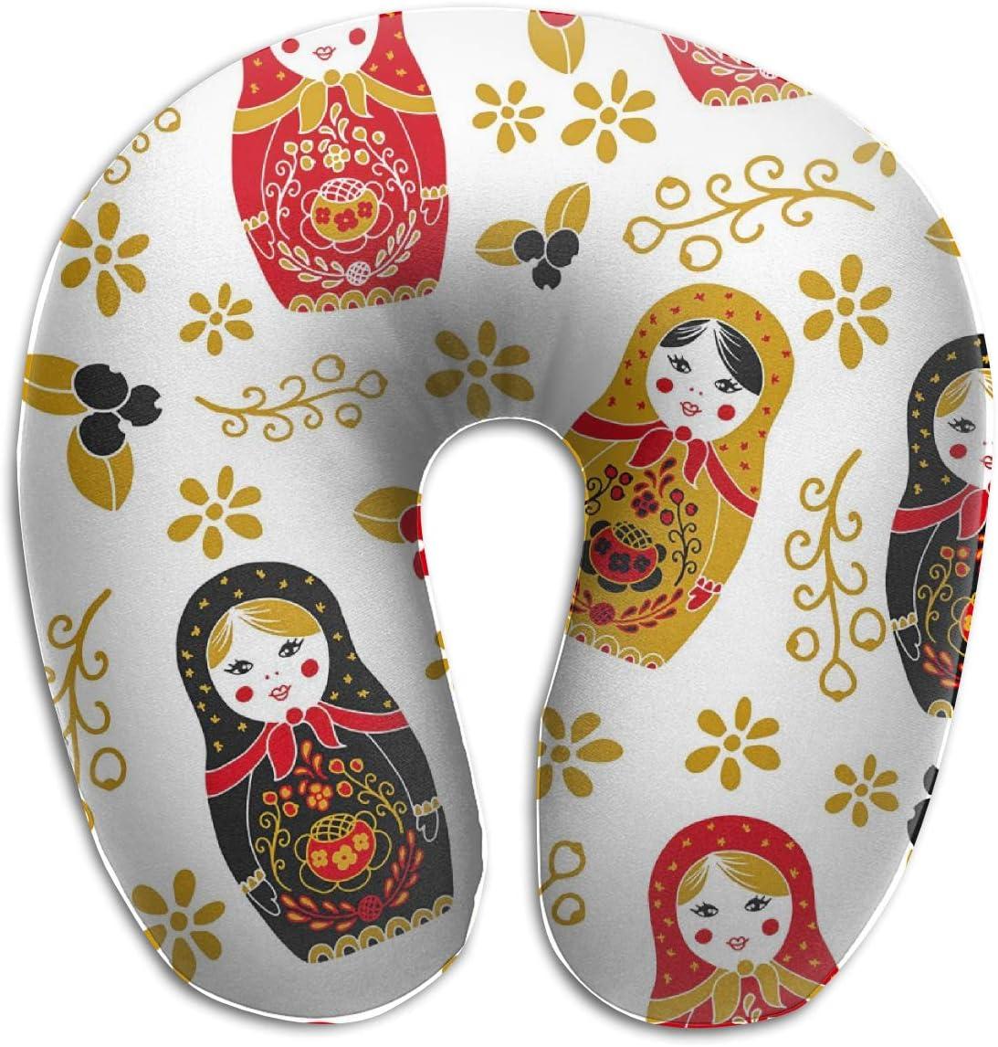 Ergonomic Contoured Memory Foam U Shape Travel Neck Head Pillow Cushion