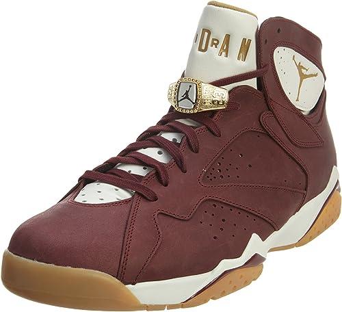 Jordan Nike Mens Air 7 Retro C\u0026C Cigar