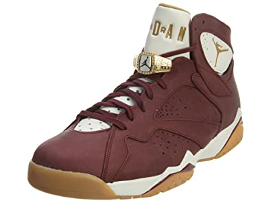 187558e525e Jordan Nike Air 7 Retro Championship C C Men Red White Gum 725093-630 (8