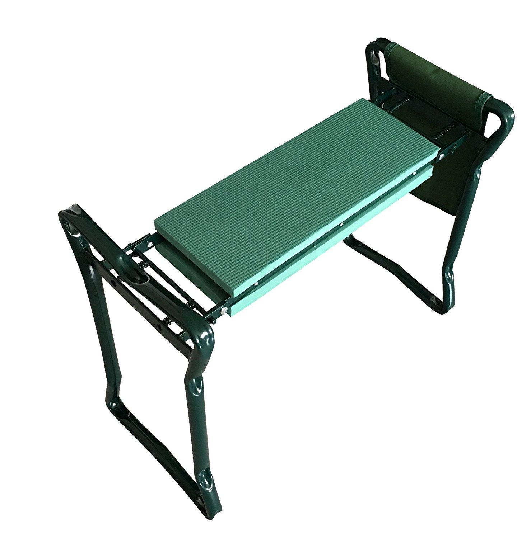 Meanch Folding Garden Bench Seat Stool Kneeler
