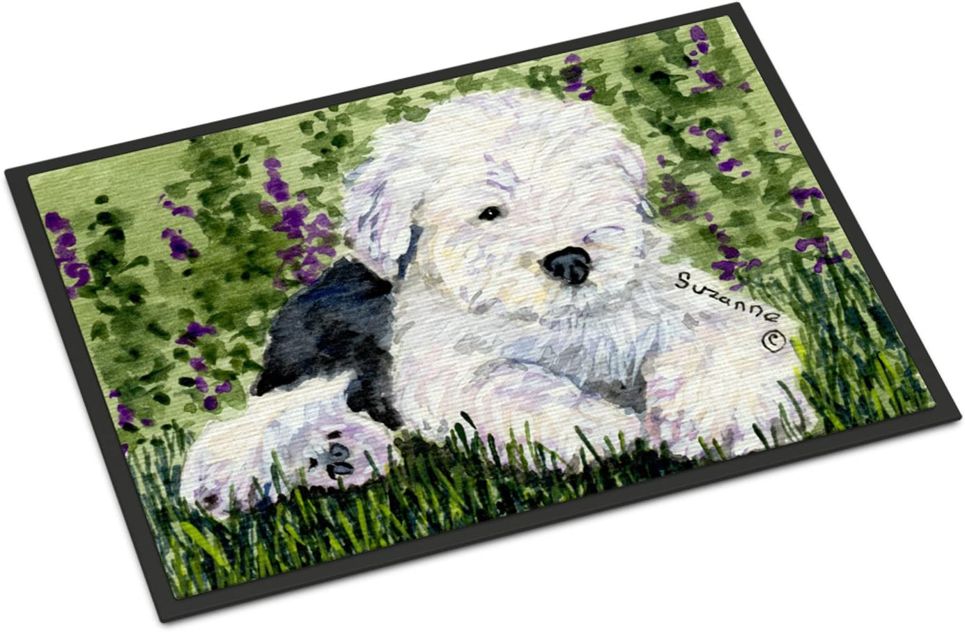 Caroline s Treasures SS8840JMAT Old English Sheepdog Indoor or Outdoor Mat 24×36 Doormat, 24H X 36W, Multicolor