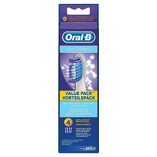 Rask Oral-B Pulsonic Aufsteckbürsten, Passend für alle Oral-B Pulsonic BU-66