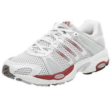 Adidas hombre 's Response Cushion 16 corriendo zapatos , LT gris / rojo, 9 m: Comprar