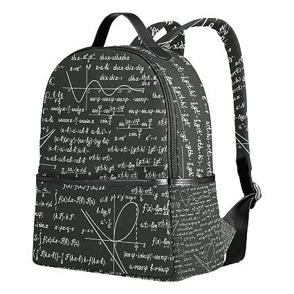 Amazon.com: Mochila Escolar para Niños, Niñas, Matemáticas ...