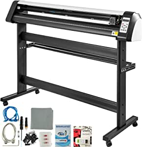 VEVOR 53 Inch Vinyl Cutter Machine Vinly Sign Cutting Plotter Starter Bundle Kit Software: Amazon.es: Electrónica