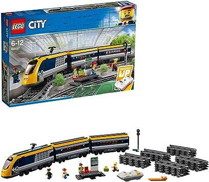 LEGO City , Le train de passagers télécommandé , 60197 , Jeu de Construction