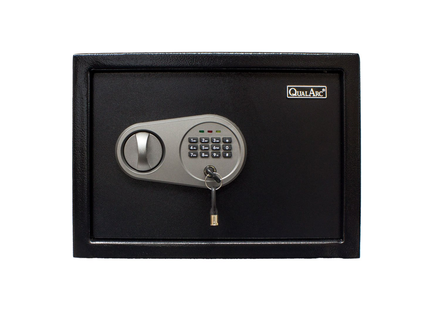 Qualarc NOCH-25EL Electronic Digital Home & Office Security Solid Steel Safe with Keypad Lock