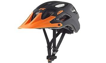 KTM Bicicleta de montaña casco – Factory Enduro Talla 52 – 56 – Naranja/Negro