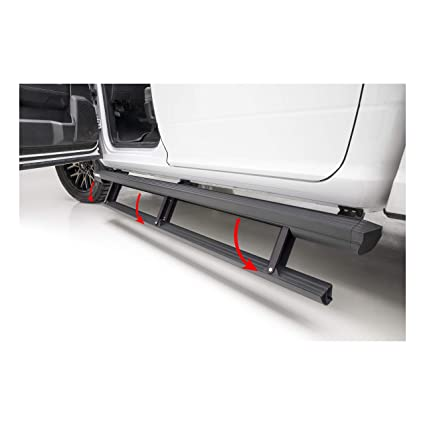 Electric Running Boards >> Amazon Com Aries 3047904 Actiontrac Black 79 Powered