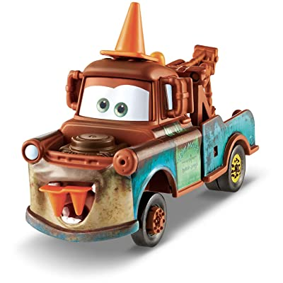 Disney/Pixar Cars Deluxe Cone Teeth Mater: Toys & Games