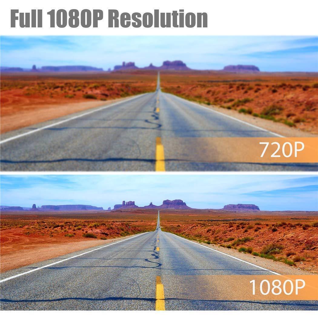 Night Vision Parking Mode FHDCAM Dash Camera Video Recorder DVR Car Dashboard Camera with 1080P FHD Gravity Sensor Dashboard Camera 5558992038 Motion Detection Loop Recording