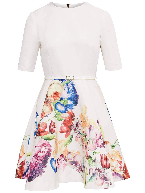 Ted Baker Vestido de Falda Completa Floral con tutú para Mujer ...